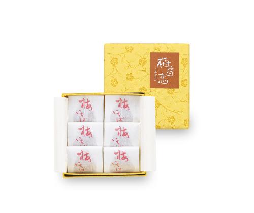 梅香恋 黄金漬 6粒入